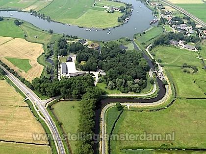 Luchtfoto Fort Uitermeer