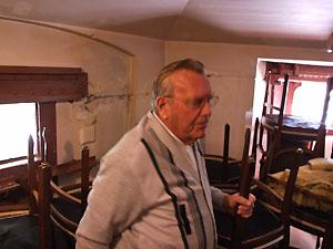Dirk van Berge bezoekt het Fort benoorden Purmerend