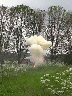 Granaat onschadelijk gemaakt op Fort bij Uithoorn