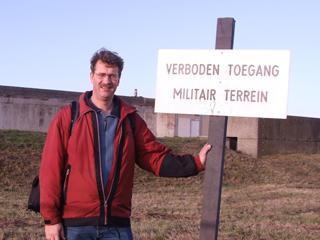 Onderzoeker René Ros, Documentatiecentrum Stelling van Amsterdam