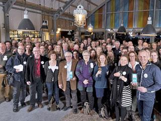 Groepsfoto deelnemers Stichting Liniebreed Ondernemen