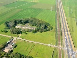 Luchtfoto van Fort aan Den Ham