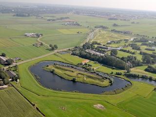 Luchtfoto Fort bij Veldhuis.