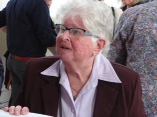 Onderduikster Rinah Pomeranz in 2019.