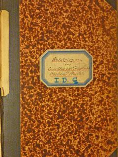 Fortwachters Register in het Nationaal Archief.