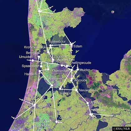 wegen rond amsterdam